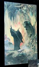 Original 1979 Frank Frazetta Fantasy Art Poster Bag New NOS 3-1 World beater