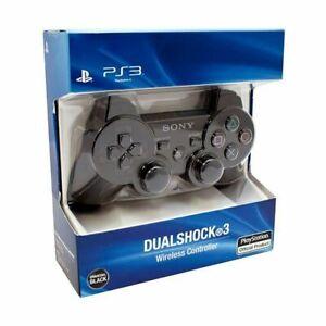 Manette Dualshock 3 Controller PS3 Noir Sans Fil Bluetooth Jeux Console Gamer