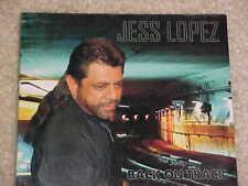 Back On Track [Digipak] * by Jess Lopez (CD, 2011, Broken Records) NEW