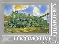 Locomotive Quarterly Winter 02 Erie Great Norther GN Centrao Of Georgia Mountain