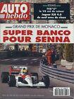 AUTO HEBDO n°778 du 14 Mai 1991 GP MONACO TVR V8S JAGUAR XJS 4.0