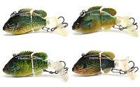 Jointed Fishing Lure Swimbait Life-like Bluegill Sunfish Pumpkinseed Bass Killer