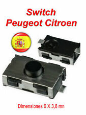 1X mando a distanci Peugeot 206 307 406 Citroen xsara C3 C5 INTERRUPTORES SWITCH