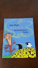 William The Backwards Skunk Chuck Jones First Edition 1986 Hard Cover Book