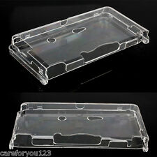 Hard Protective Shell Crystal Case Clear Skin Cover For Nintendo 3DS Console New