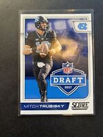 Mitch Trubisky Rookie Card 2017 Panini Score Draft #1 Chicago Bears RC Insert