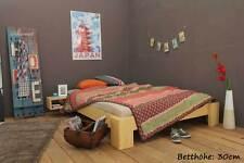 SUVA Bambusbett 200x200cm, 30cm oder 40cm Bett Höhe, NEU!