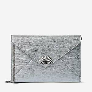 RRP.£14 Brand New with Tag Dorothy Perkins Silver or Blush Pink Shell Clutch Bag