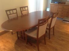 G Plan Extending Dining Table and 4 Chairs