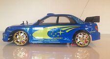 New Subaru Impreza style WRC Radio Remote Control Car 15MPH 1:10 Scale