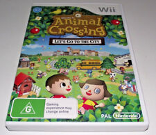 Animal Crossing Let's Go To the City Nintendo Wii PAL *Complete*