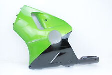 00 01 KAWASAKI NINJA ZX12R GREEN LEFT LOWER MID UPPER SIDE FAIRING COWL