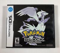 Pokemon: Black Version (Nintendo DS, 2011) Authentic/Complete - Shipped in a box