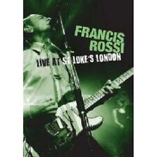 "FRANCIS ROSSI ""LIVE AT ST. LUKE'S, LONDON"" BLU RAY NEU"