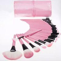New Professional 32 Pcs Kabuki Make Up Brush Set and Cosmetic Brushes Case