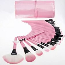 New Professional 32 Pcs Kabuki Make Up Brush Set and Cosmetic Brushes Case