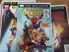 mighty Avengers comic lot 1-36 nm bagged boarded [