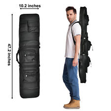 """47"""" Tactical Double Rifle Bag Gun Range Padded Soft Case Hunting Military"""
