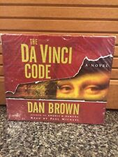 Robert Langdon: The Da Vinci Code  by Dan Brown (2003, CD, Abridged)(New Audio)