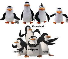 4pcs The Penguins of Madagascar Skipper Private Kowalski Plush Stuffed Dolls Set