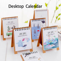 2020 Desktop Calendar Stand Up Monthly Home Planner Cartoon Office Dreamcatcher