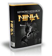 Uncover Hidden Profitable Keywords & Niche Markets; Keyword Research Software CD