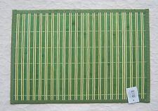 4 tlg Tischset Platzmatte Platzset Ritzenhoff Breker Wood Bambus Grün 2. Wahl