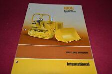 International Harvester 100E Crawler Loader Dealer's Brochure DCPA2