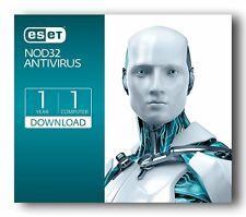 ESET NOD32  Antivirus  2020 1 Dispositivo  1 Anno IT