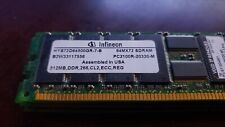 4x Infineon 512MB DDR 266 PC-2100 ECC Reg CL2