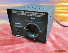 500W USA SPANNUNGSWANDLER 230/220V auf 110V Wandler Converter up/stepdown