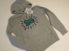 KEITH HARING x UNIQLO MoMA NY Art Hoodie Sweatshirt Medium M Gray 'Radiant Baby'