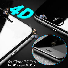 For iPhone 7 Plus Full Cover Tempered Glass Film Premium 3D HD Screen Protector