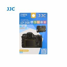 JJC LCP-D500 LCD Screen Protector Guard Film Cover for Nikon D500 DSLR Camera