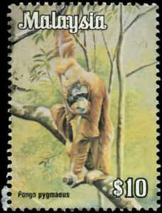Malaysia Scott #182a Used  Unwatermarked