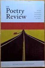 Poetry Review: Spring 2014: Vol. 104, No. 1