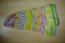 Multi Colore Paisley Sole Sfumati Blu Verde Rosa 100/% cotone donna sciarpa da Codello