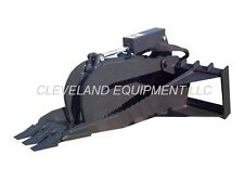 "NEW 62"" XL STUMP GRAPPLE BUCKET ATTACHMENT For Bobcat SkidSteer Track Loader"