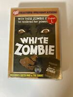 White Zombie (DVD, 2009, With L T-shirt) VERY RARE 1932 HORROR BRAND NEW