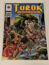 Turok Dinosaur Hunter #1 August 1993 Valiant Comics