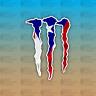 "Puerto Rico Flag 5"" Custom Vinyl Decal Sticker JDM"