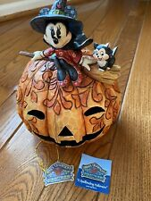 "Jim Shore's ""A Spellbinding Halloween� Featuring Disney's Minnie Mouse"