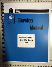 544 International Harvester Tractor Technical Service Shop Repair Manual