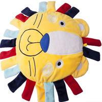 Cute Cartoon Lion Head Stuffed Soft Plush Toy Doll Pillow Baby Children Gift WS