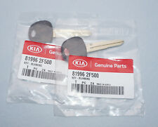 PAIR OEM SEALED ORIGINAL 07 08 09 KIA SPECTRA UNCUT MASTER KEY BLANK 81996 2F500