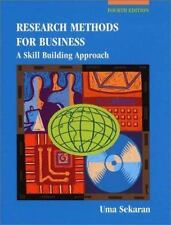 Research Methods for Business: A Skill Building Approach-ExLibrary