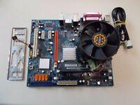 Liteon PR111 Motherboard,Intel Pentium Dual Core E2200, 2,26 GHZ,2 GB RAM, #