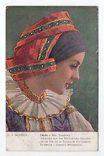 RUSSIE Russia Théme Types russes costumes jeune fille de la slovaquie moravienne