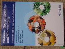 Vitamine, Spurenelemente und Mineralstoffe Buch Thieme, Biesalski Köhrle Schüman