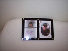 NASCAR - GEOFFREY BODINE - 2 CARDS- 1 SIGN OF THE TIMES AUTOGRAPHED CARD - 1 SP